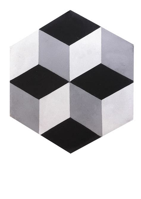 carrelage blanc joint noir hexagone noir blanc gris carreaux ciment carrelages du marais salle de bain
