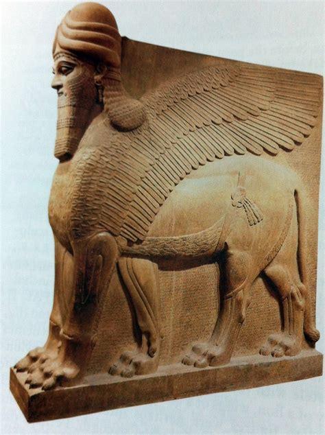 human headed winged lion mesopotamia
