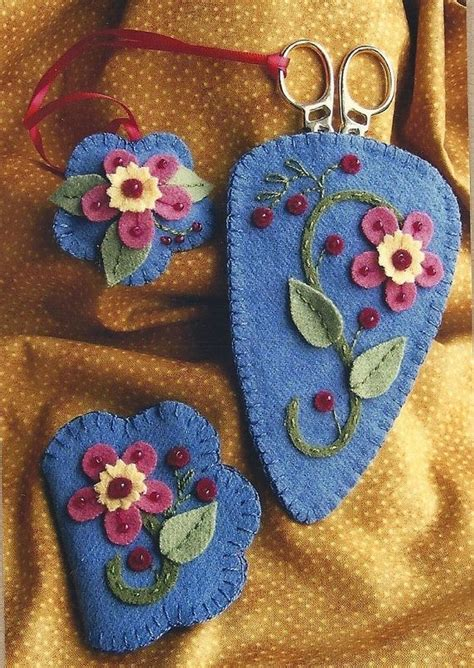 Felt Applique Patterns by Wool Felt Applique Patterns Free Felt Flowers Plants