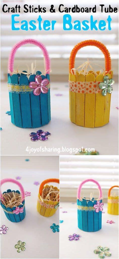 cute  easy easter basket craft crafts  kids