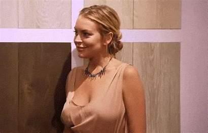 Lohan Lindsay Smiling Gifs Celebnsfw Xhamster Sento
