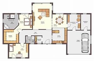 Grundriss Haus 200 Qm : bungalow grundriss 150 qm ~ Watch28wear.com Haus und Dekorationen