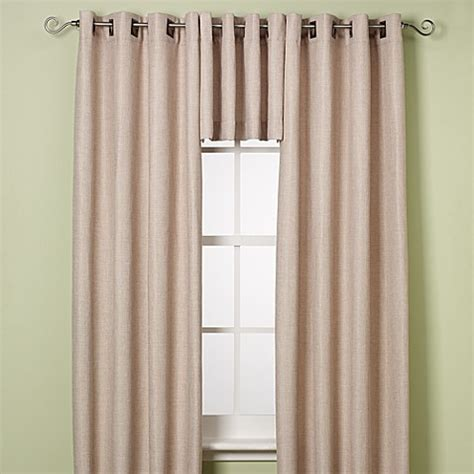 120 inch curtains buy reina 120 inch grommet top window curtain panel in ivory from bed bath beyond