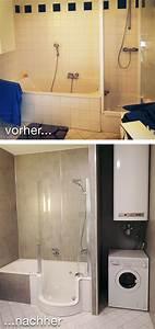 Dusche Statt Badewanne : badrenovierung mit komfort und platzgewinn statt extra badewanne und dusche mit hohem einstieg ~ Orissabook.com Haus und Dekorationen