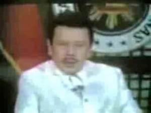 President Joseph Erap Estrada's I will not resign Speech ...