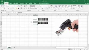 How to create barcode in excel using barcode font work for Barcode font for excel