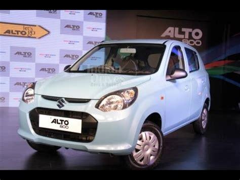 maruti launches alto 800 vxi trim in india details