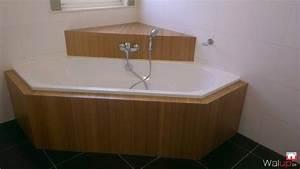 Habillage De Baignoire : habillage baignoire par menuiserie tournaisienne ~ Premium-room.com Idées de Décoration
