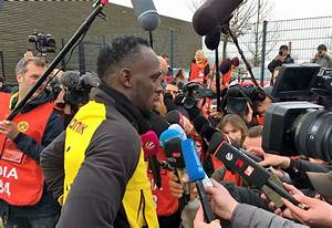 VIDEO: Usain Bolt trains with Borussia Dortmund ...