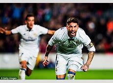 Real Madrid defender Sergio Ramos is becoming the master