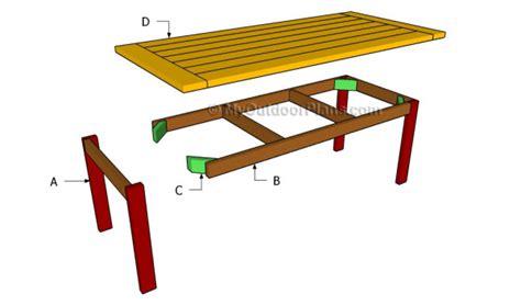 kitchen table bench plans free free woodworking plans kitchen table quick woodworking