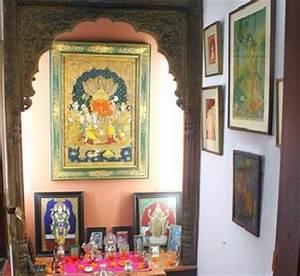 Pooja Room Home Mandir Living Room