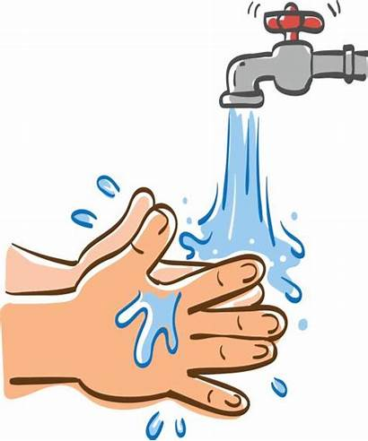 Washing Clipart Hand Hands Water Cleaning Illustration