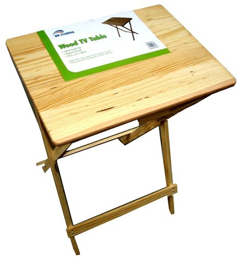 Portable Folding Table Wooden Compact Tv Coffee Kitchen