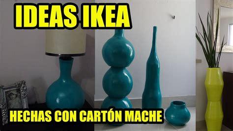 ideas ikea jarrones hechos con papel mache how to make vases of mache paper