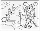 Coloring Hiking Pages Hike Trail Excited Drawing Hiker Colouring Children Oregon Trails Getting Prodigy Map Hikeswithtykes Reluctant Read Hikes Printable sketch template