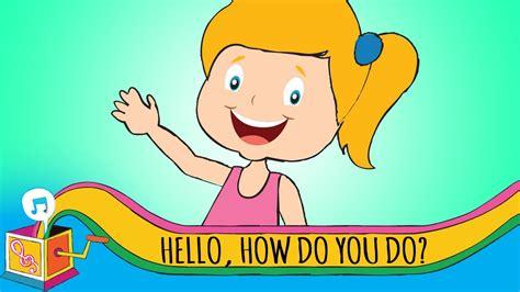 Hello, How Do You Do?  Nursery Rhyme  Karaoke  Youtube