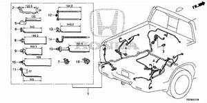 Wire Harness  5  For 2017 Honda Ridgeline Sedan