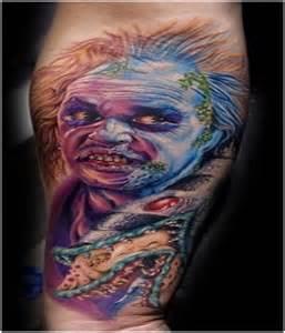 Scary Horror Movie Tattoos