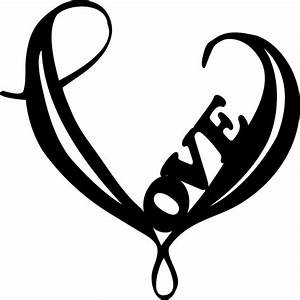 Simple Black Heart Tattoo Music - ClipArt Best