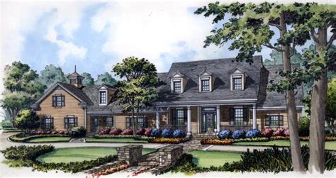 colonial cape  house plan family home plans blog