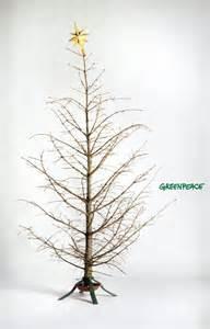 dead x mas tree greenpeace print ad