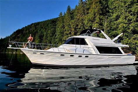 Motor Boats For Sale Vancouver Bc by Bayliner 4788 Pilot House Motoryacht 2000 Used Boat For