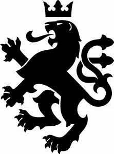 Heraldic king lion Vector | Free Download
