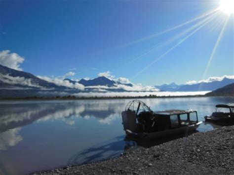 Airboat Knik Glacier by Airboat Picture Of Knik Glacier Day Tour Palmer
