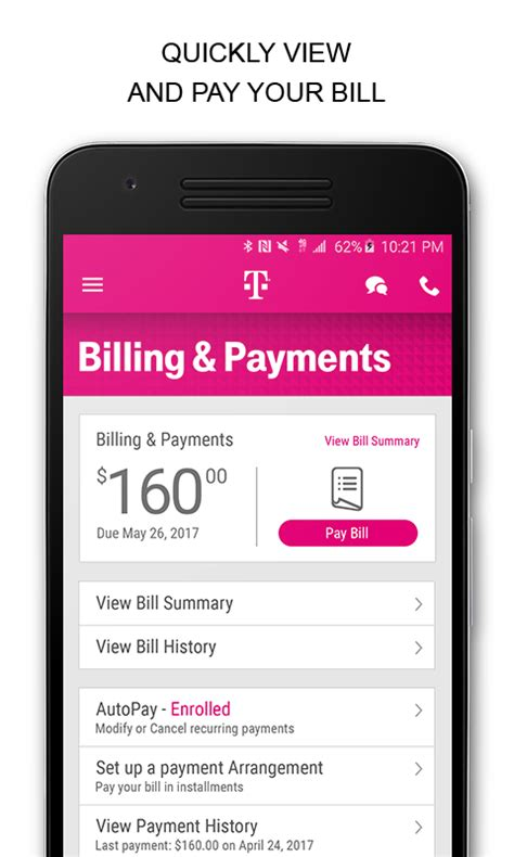 t mobile pay on phone t mobile android apps on play