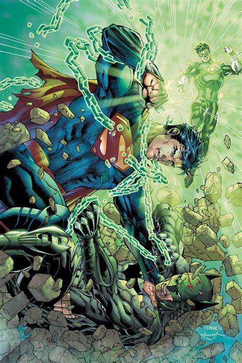 superman vs batman green lantern of steel 1