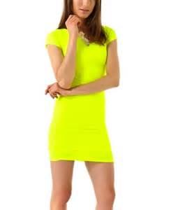 Kendall Jenner Neon Dress
