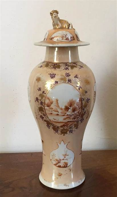 Chinese Antique Century 19th Early Vase Porcelain