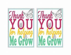 Free Teacher Appreciation Printable - Craving some Creativity