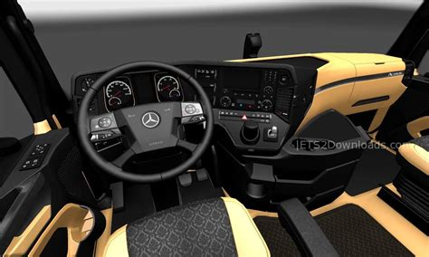 luxury mercedes the luxury interior for mercedes benz new actros ets 2