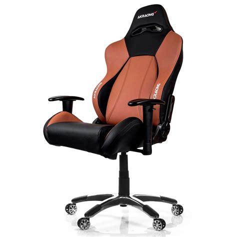 chronopost siege akracing premium gaming chair marron siège pc akracing