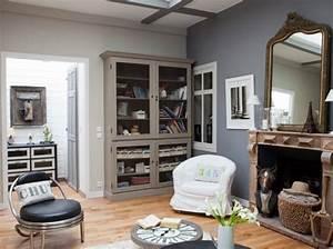 deco salon taupe gris blanc With deco salon taupe et gris