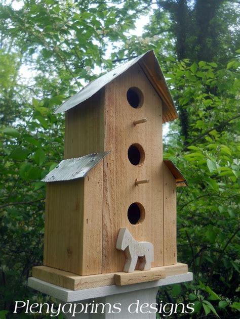 Best Folk Art Bird House Images Pinterest Exotic