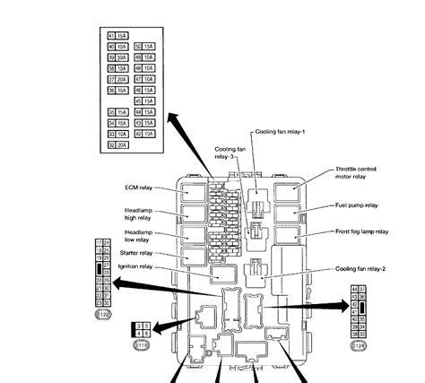 2004 nissan quest fan diagram illustration of