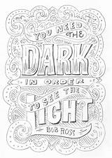 Quotes Ross Bob Coloring Drawing Quote Inspirational Behance Lettering Creativelive Draw Graphic Words Sketch Happy Motivational Funny Typography Adult Printable sketch template