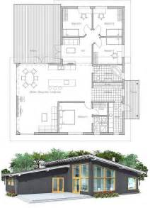 Simple Affordable Modern House Designs Ideas Photo by Modern House Plan With High Ceilings Four Bedrooms And