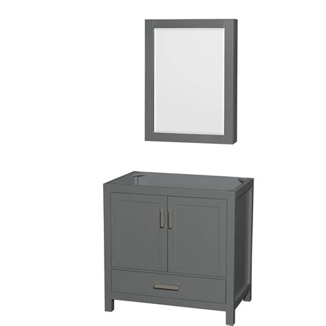 wyndham collection medicine cabinet wyndham collection sheffield 35 in w x 21 5 in d vanity