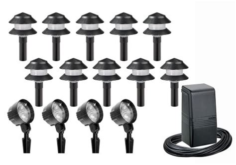 intermatic lx19414t malibu outdoor lighting kit with ten