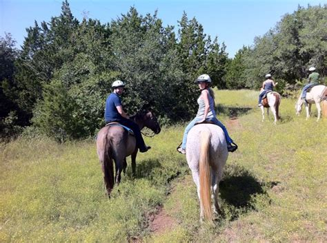riding horseback country texas hill places too