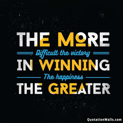 victory happiness motivational quote for instagram image