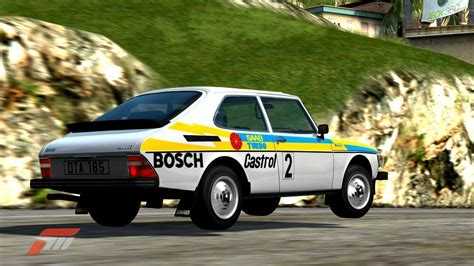 Saab 99t Rally Graphics In Forza3