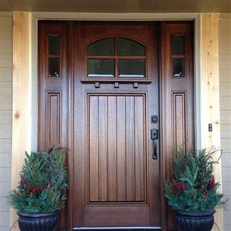 "Mai Doors Htc4001  36""x80"" 4lite Arch Craftsman"