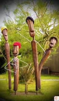 Holzskulpturen Für Den Garten by Gartenskulpturen Gestalten 2011 02 Kunst In Holzkunst