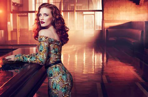 wallpaper women redhead model long hair blue eyes