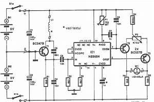Ne565 Metal Detector Circuit